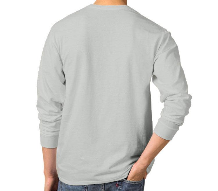 Мужская футболка с длинным рукавом (цвет  Серебро)   Все футболки ... ff75562d7bb